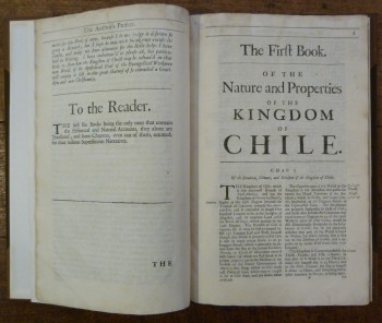 Image for An Historical Relation of the Kingdom of Chile.