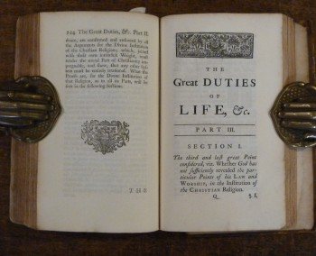 Image for The Great Duties of Life in Three Parts