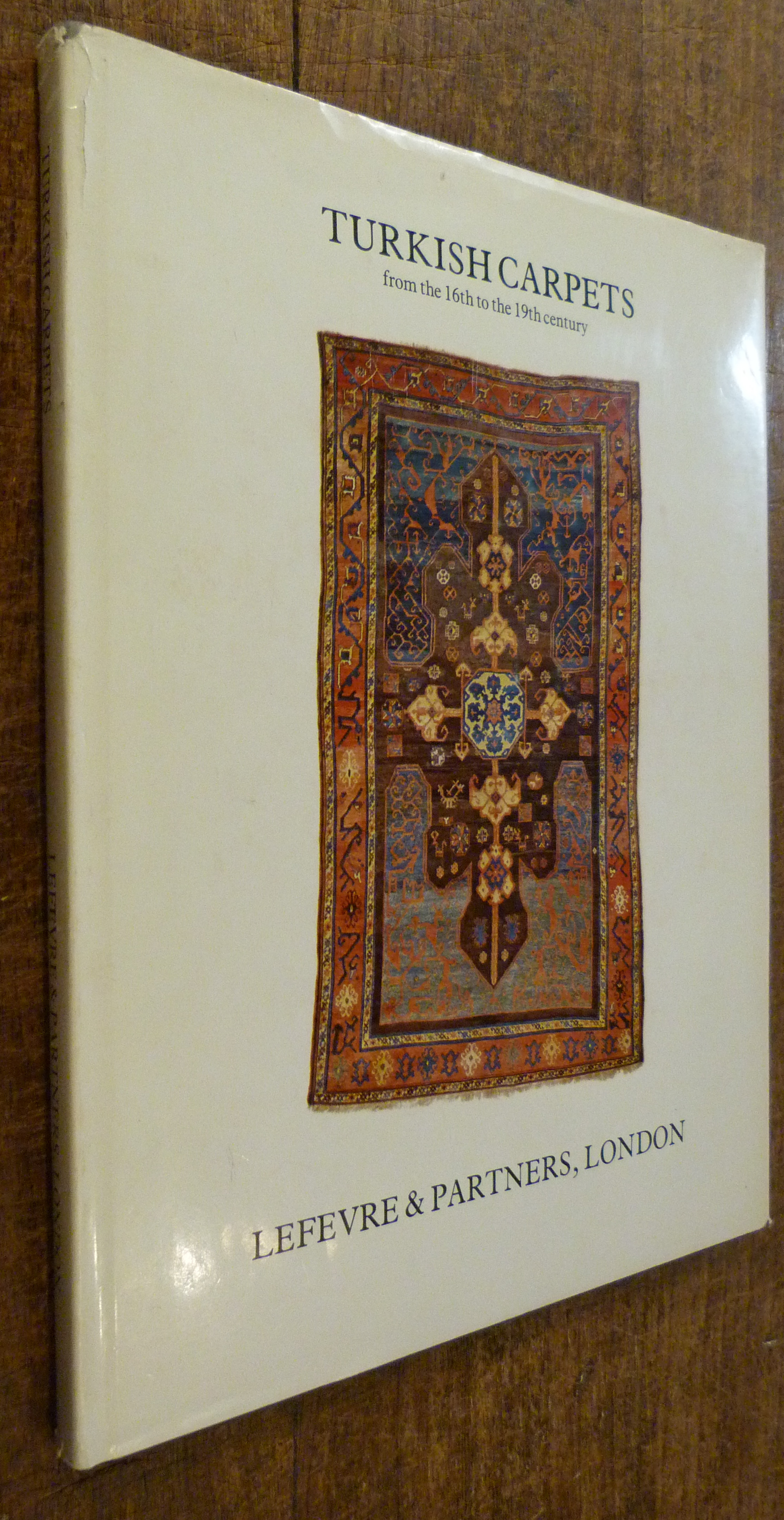 Image for Turkish Carpets from the 16th to the 19th Century.