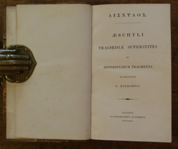 Image for Tragoediae Superstites et Deperditarum Fragmenta VOLUME ONE