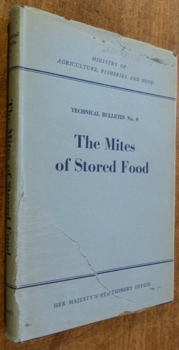 Image for Technical Bulletin No. 9  The Mites of Stored Food