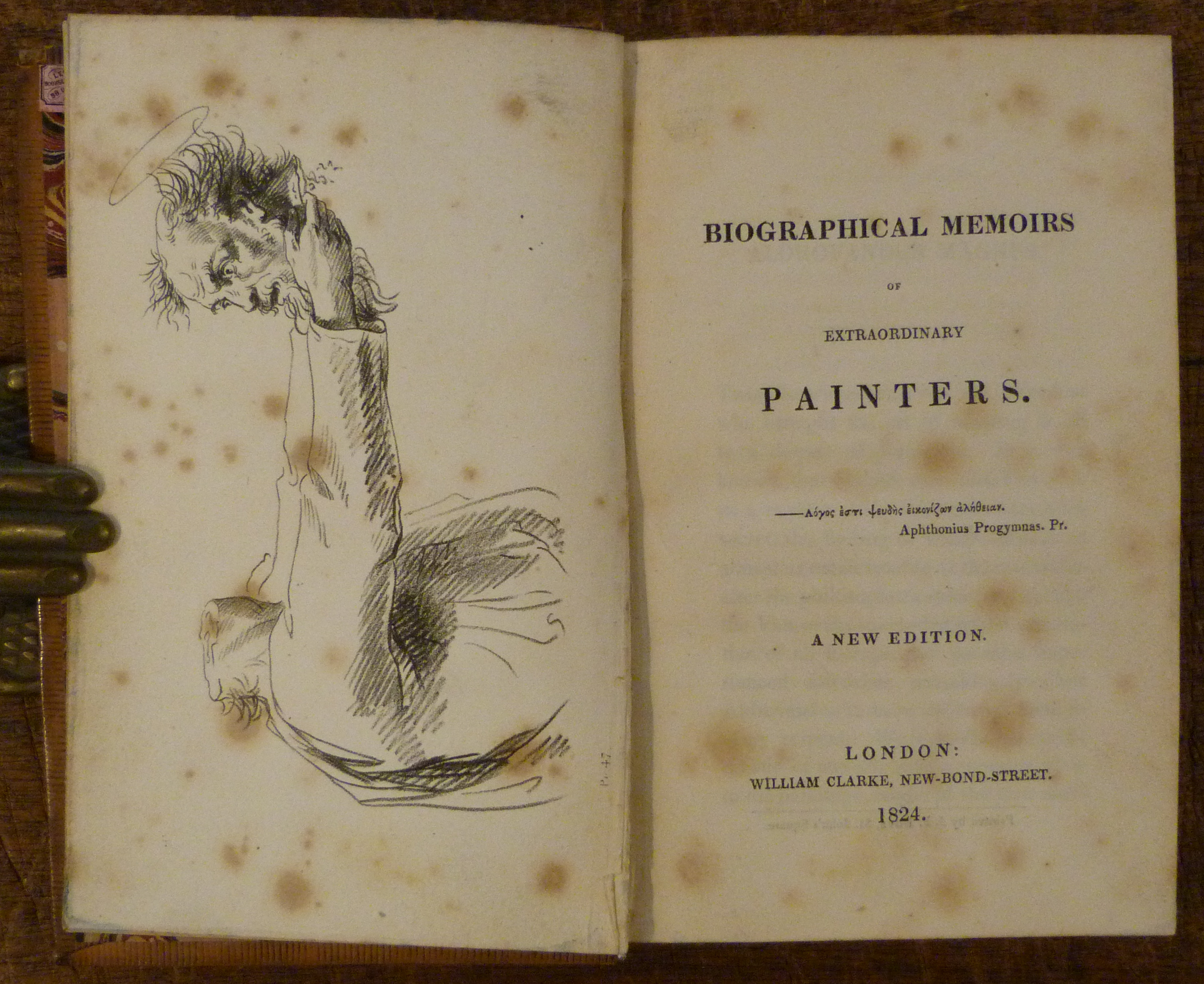 Image for Biographical Memoirs of Extraordinary Painters