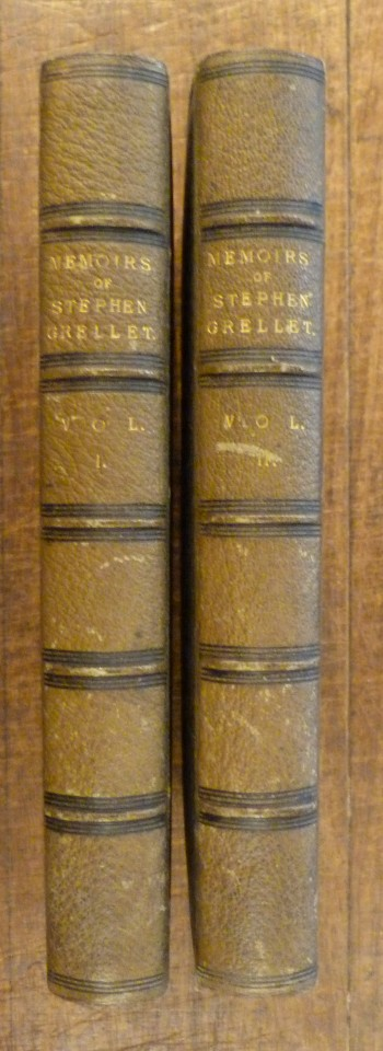 Image for Memoirs of the Life and Gospel Labours of Stephen Grellet.  TWO VOLUMES