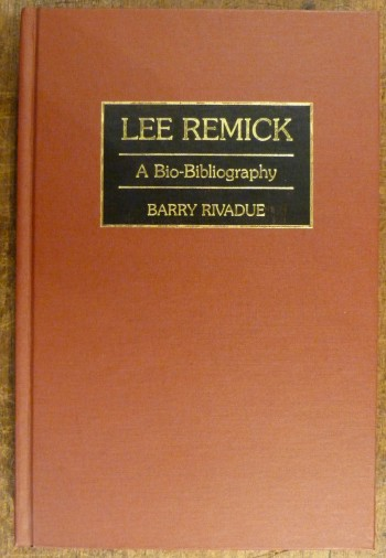 Image for Lee Remick : A Bio-Bibliography