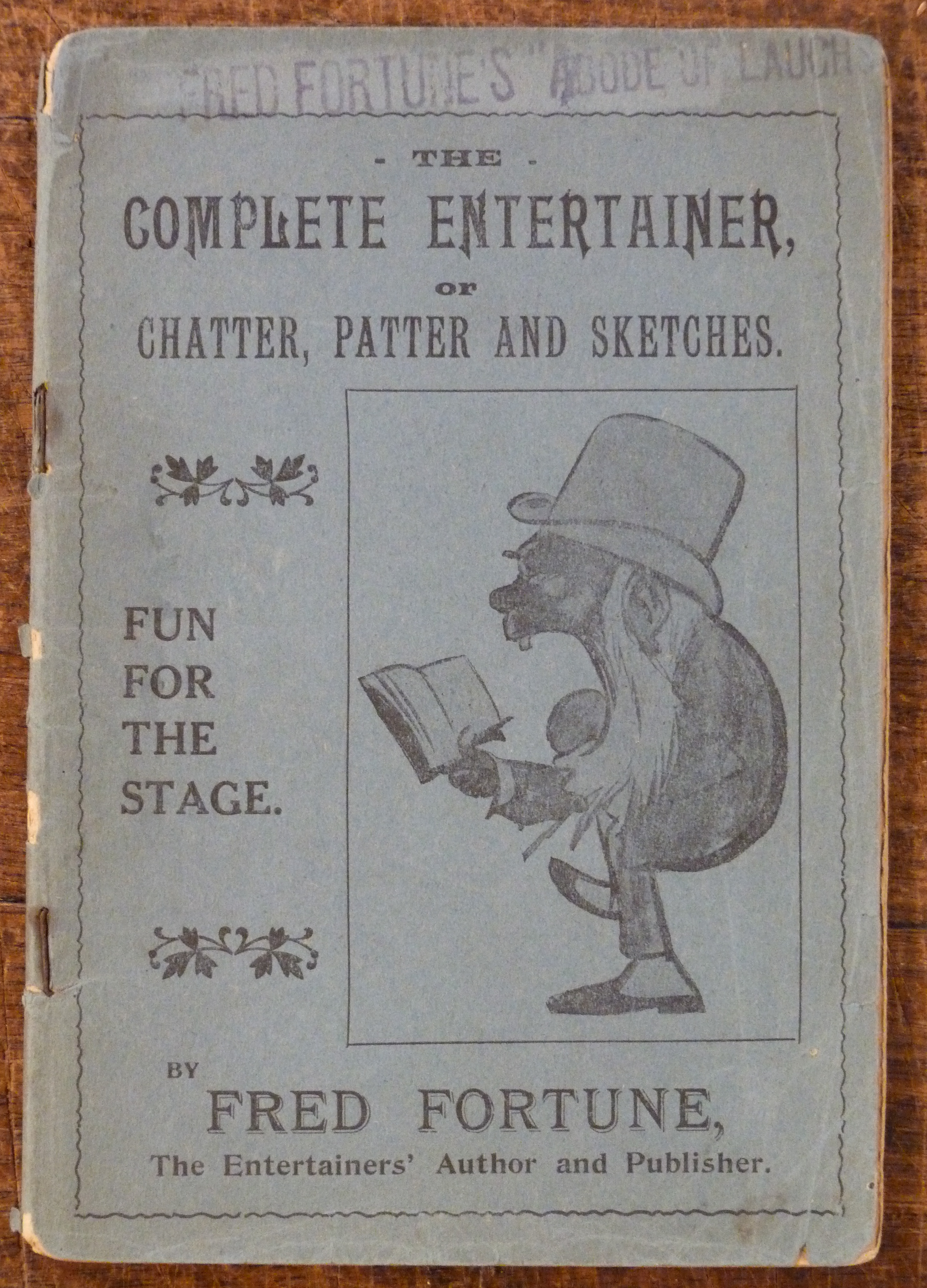 Image for The Complete Entertainer or Chatter, Patter and Sketches