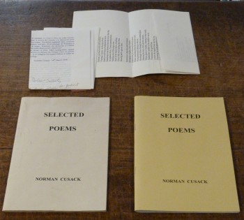 Image for Selected Poems  TWO VOLUMES