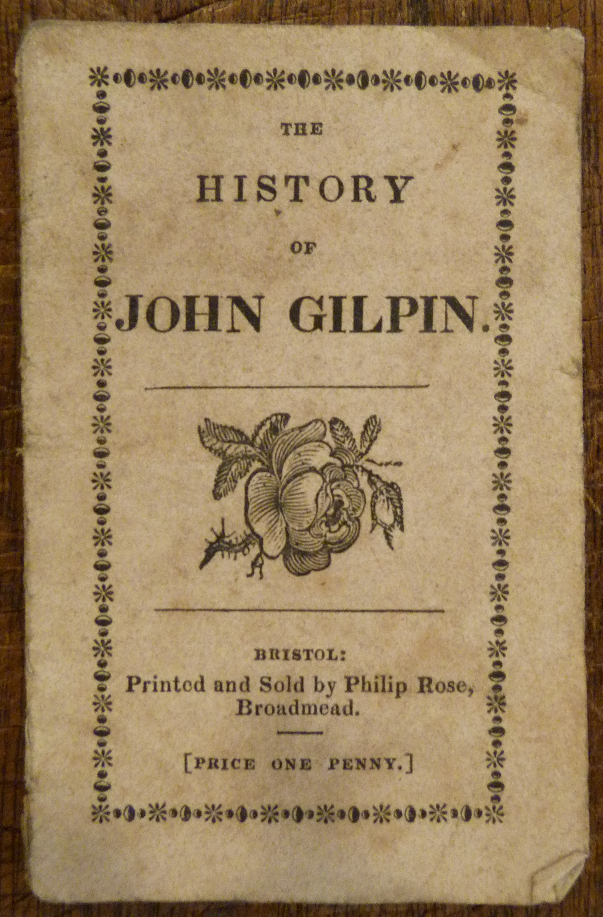 Image for History of John Gilpin