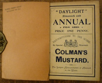 Image for Daylight Almanack and Annual for 1895