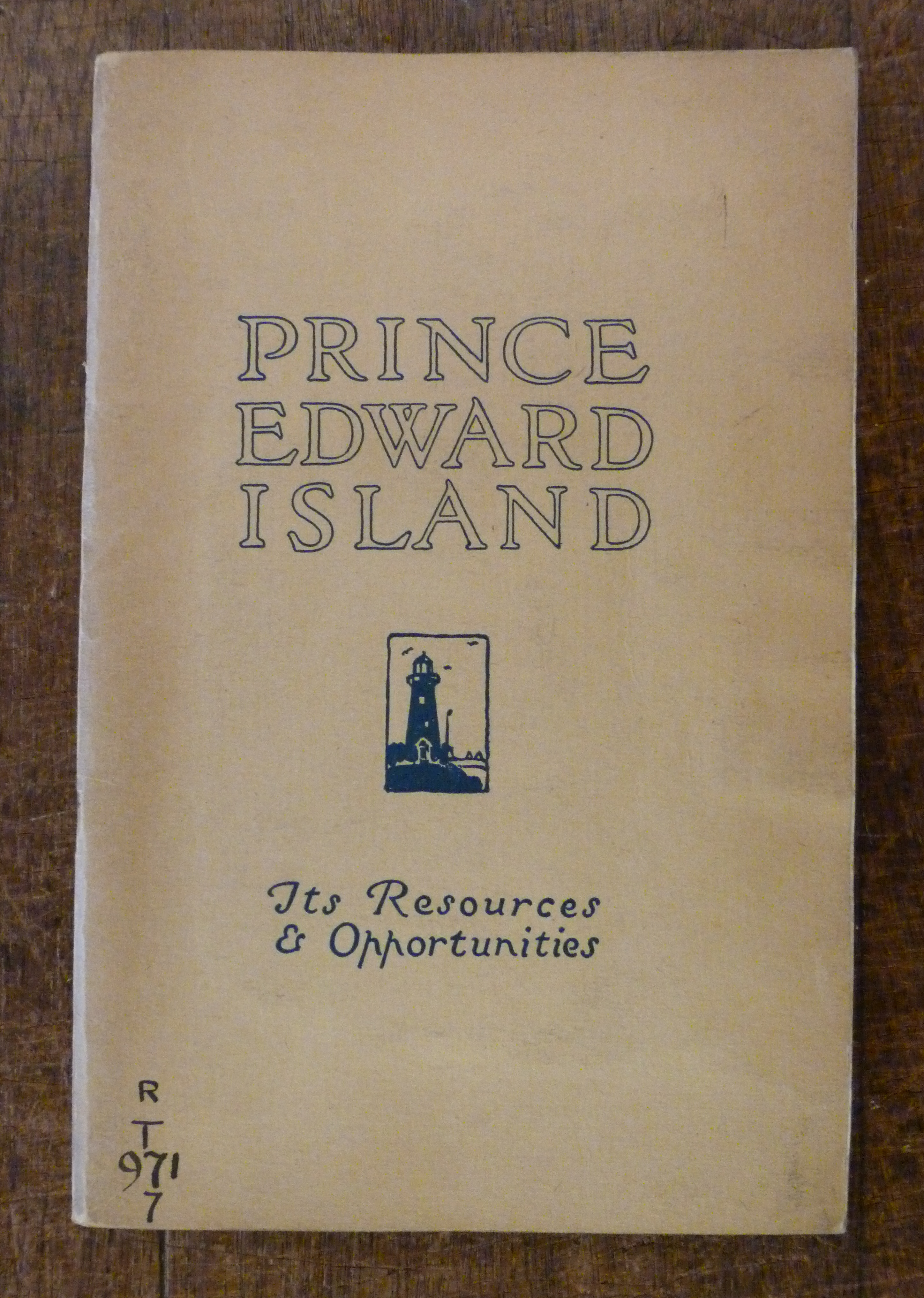Image for Prince Edward Island Canada Its Resources and Opportunities