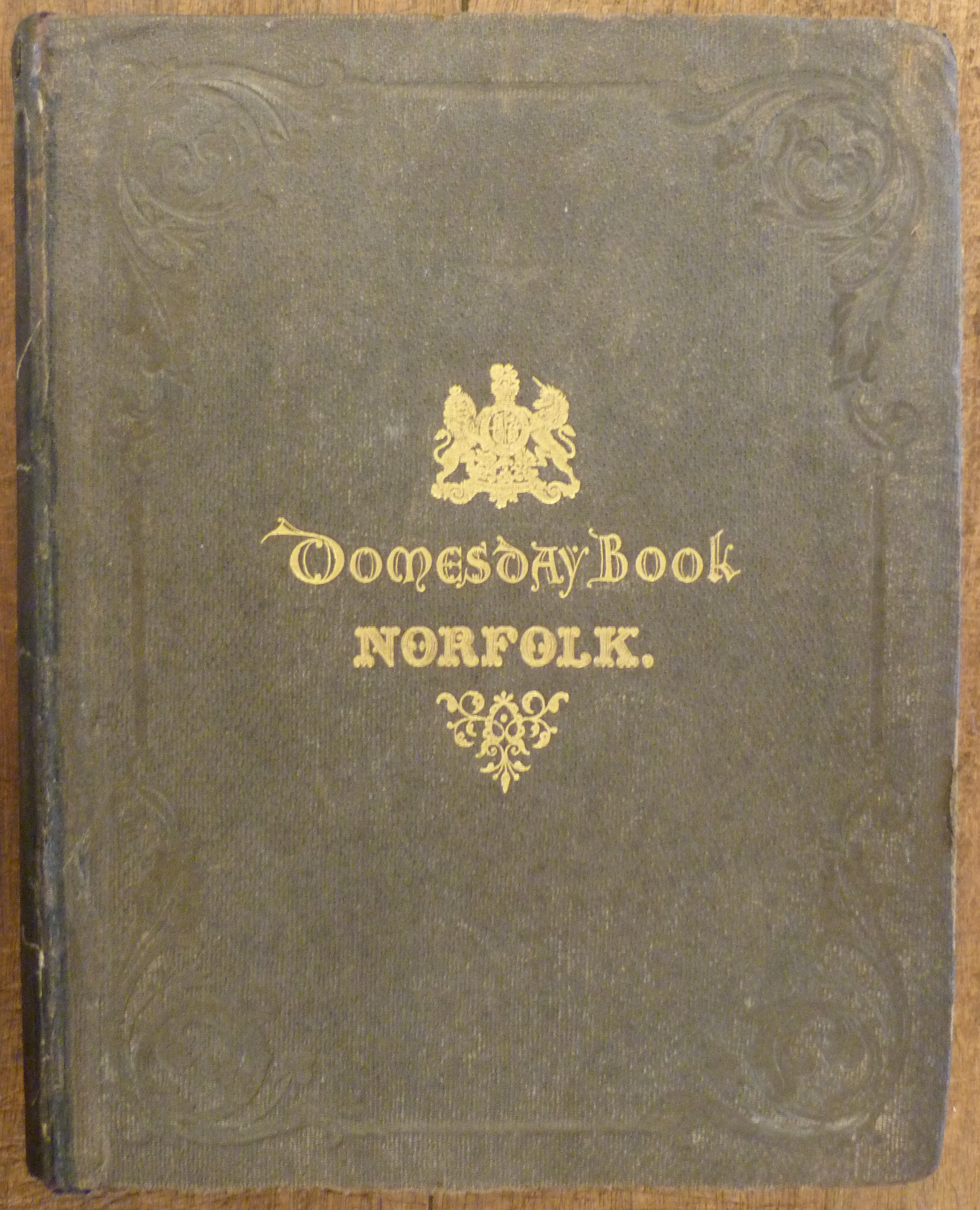 Image for The Domesday Book or the Great Survey of England of William the Conqueror  Facsimile  Norfolk