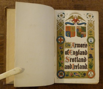 Image for The Armorie of England Scotland and Ireland