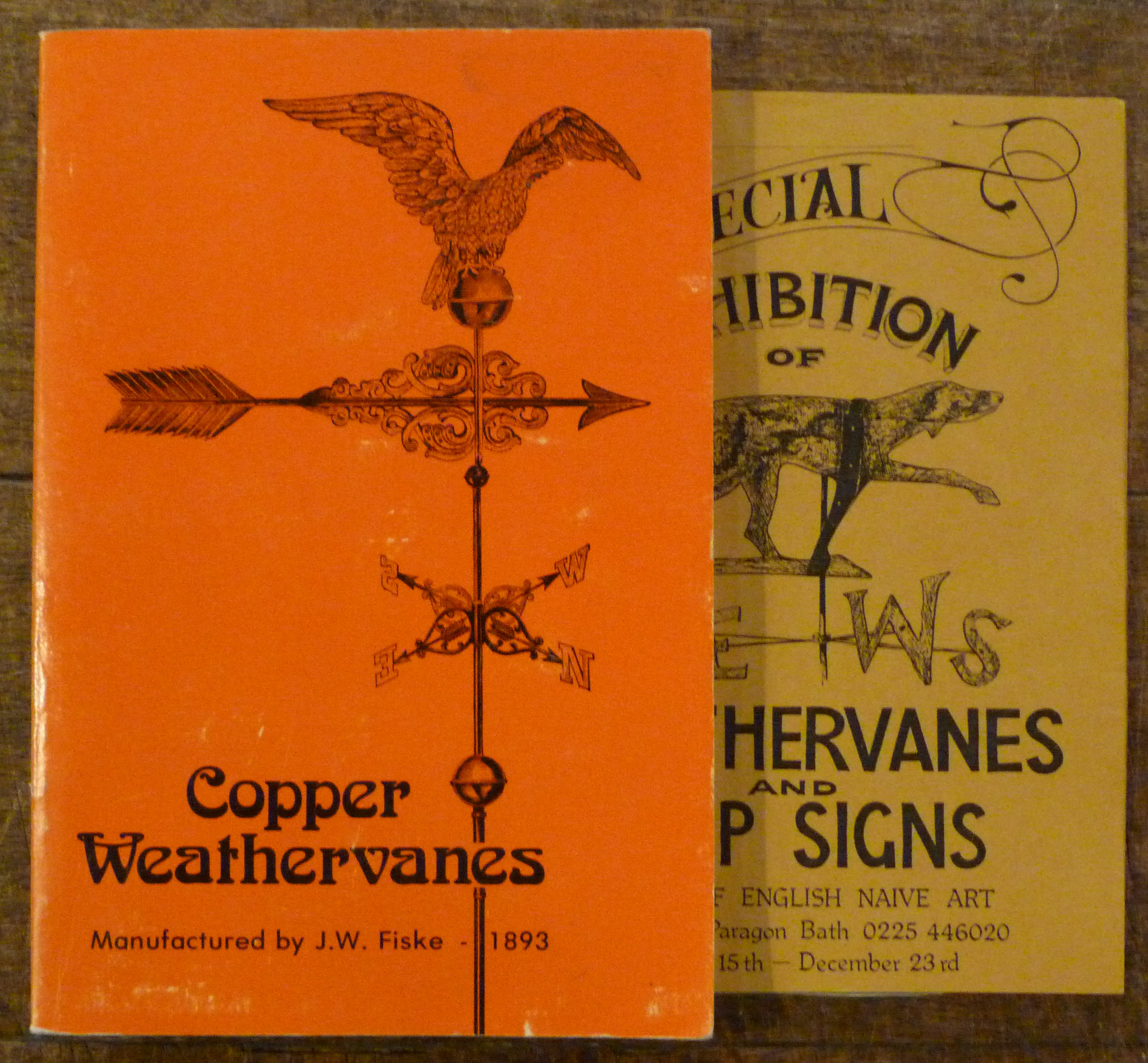 Image for Copper Weather Vanes. J.W. Fiske 1893