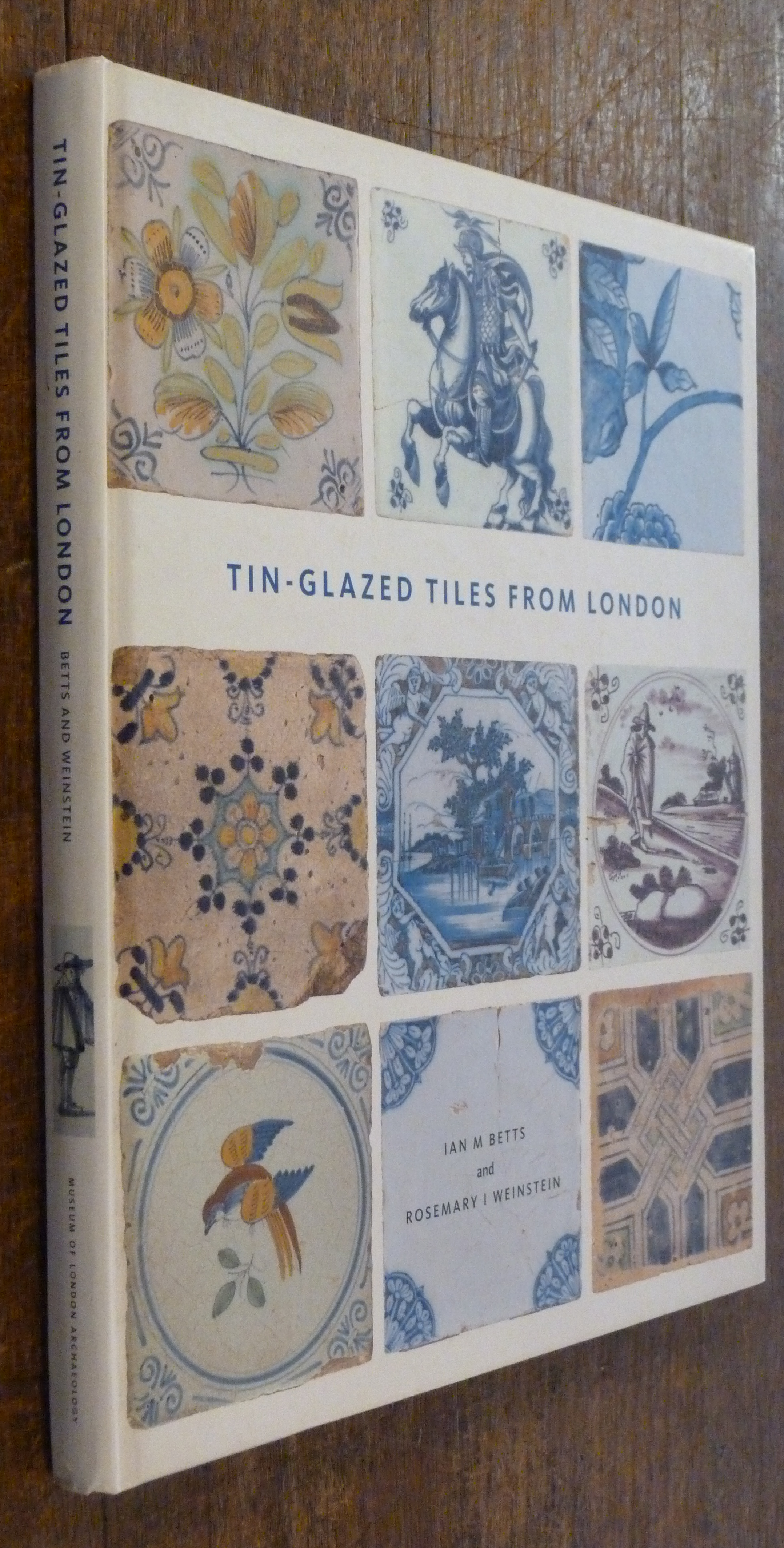 Image for Tin-Glazed Tiles From London