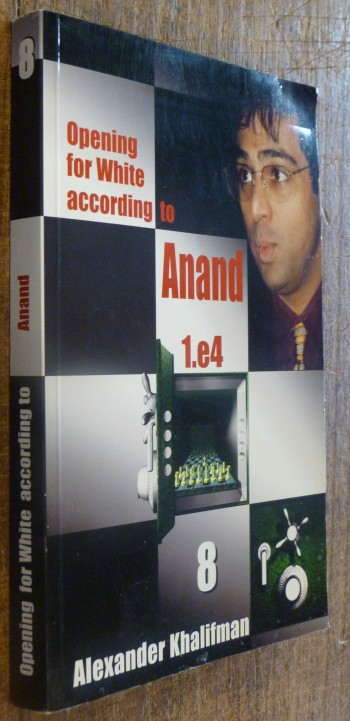 Image for Opening for White According to Anand: v.8: Vol 8