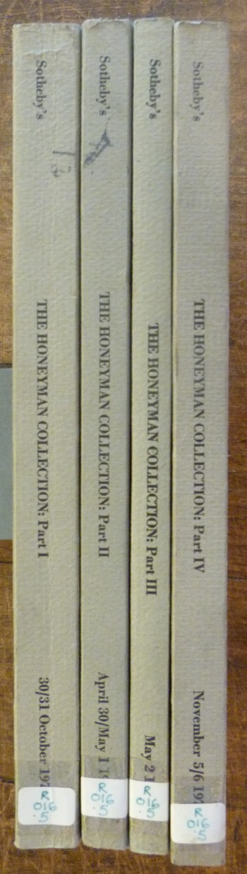 Image for The Honeyman Collection of Scientific Books and Manuscripts VOLUMES ONE, TWO, THREE & FOUR