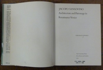 Image for Jacopo Sansovino: Architecture and Patronage in Renaissance Venice