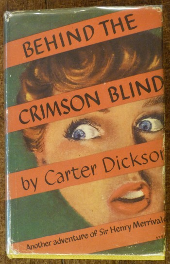 Image for Behind the Crimson Blind