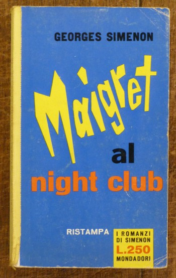 Image for Maigret al Night Club (Maigret au Picratt's)
