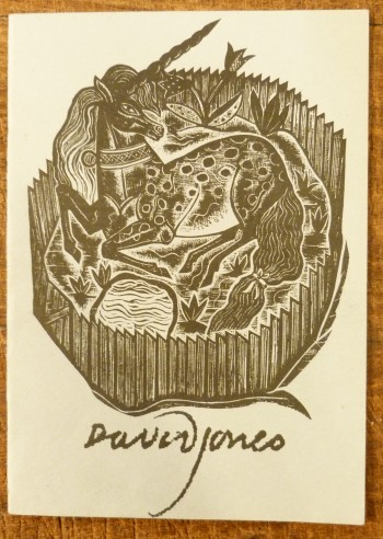 Image for David Jones 1 November 1895-28 October 1974 a Memorial Exhibition