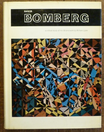 Image for David Bomberg a Critical Study of His Life and Work