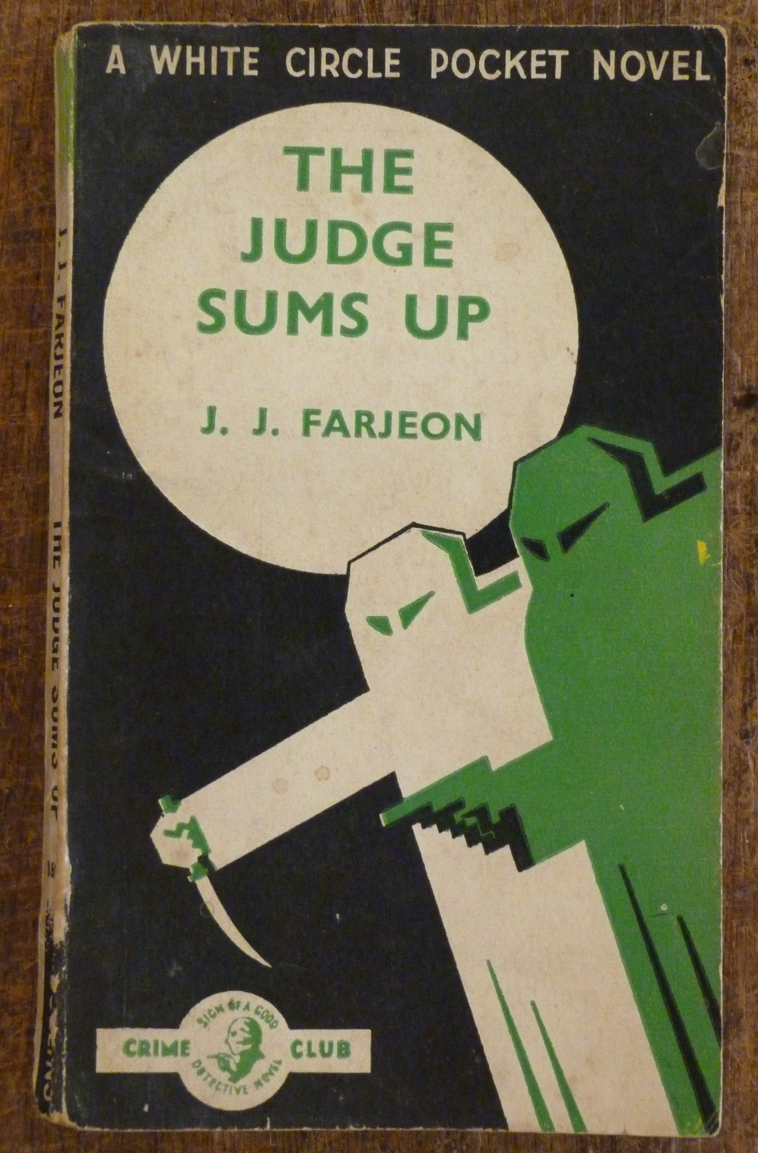 Image for The Judge Sums Up   A White Circle Pocket Novel