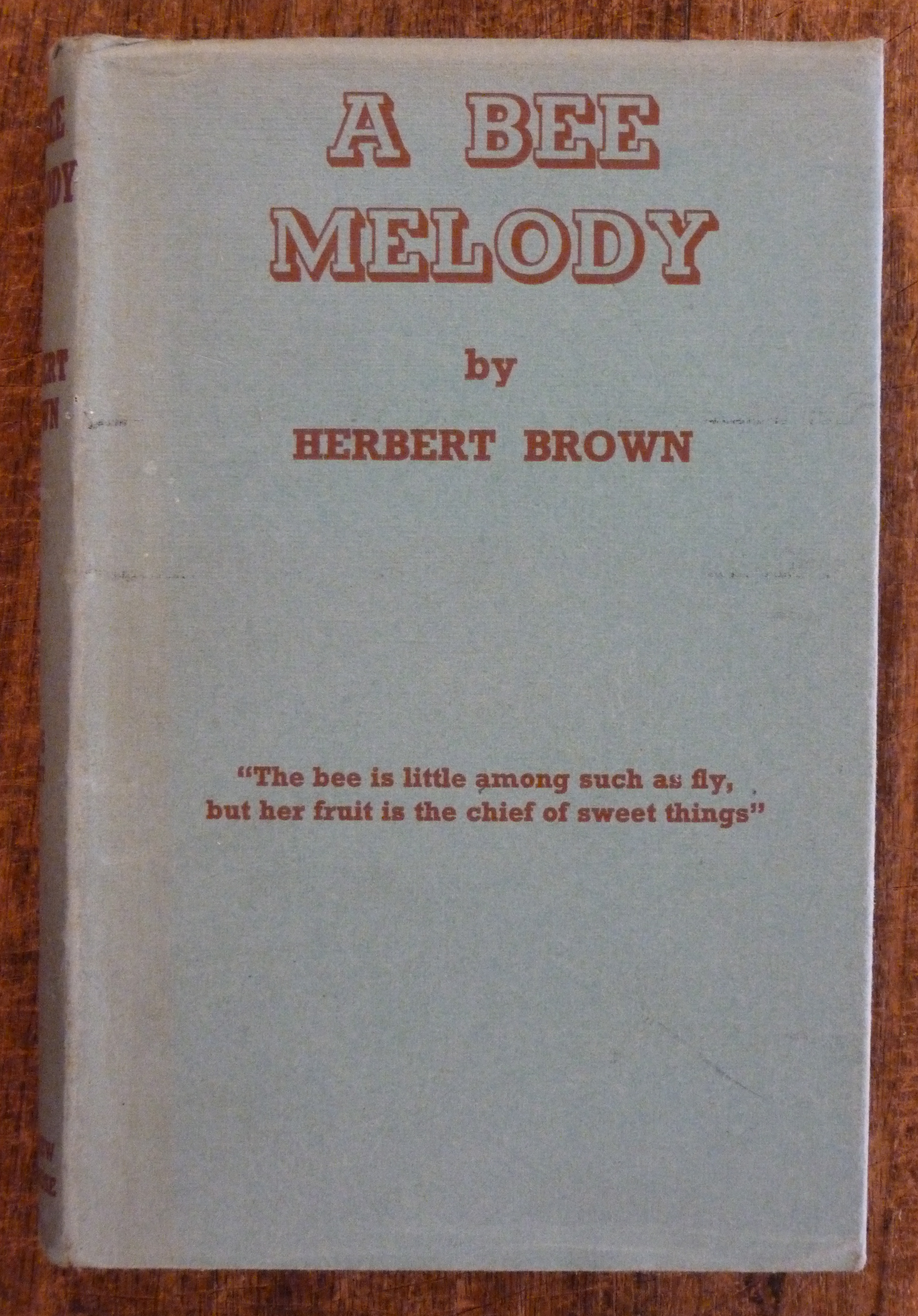 Image for A Bee Melody