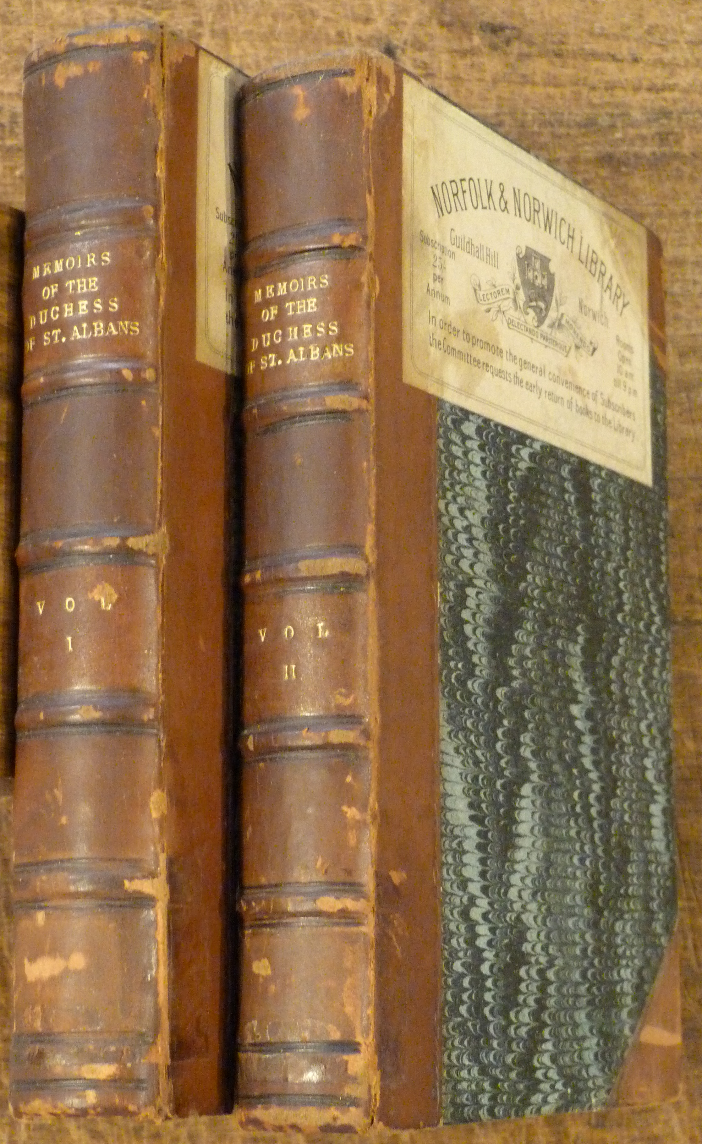 Image for Memoirs of Harriot, Duchess of St Albans TWO VOLUMES