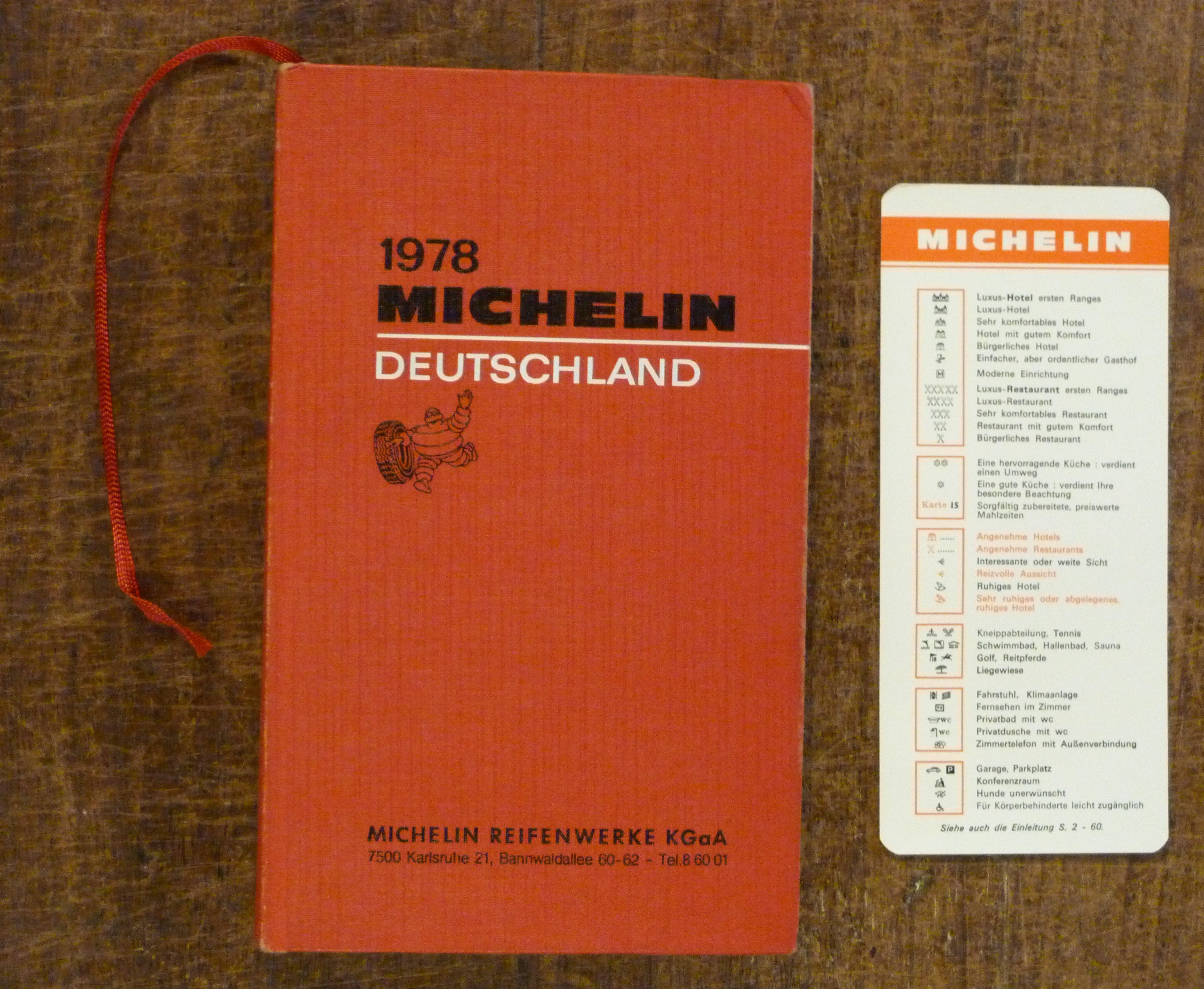 Image for 1978 Michelin Deutschland