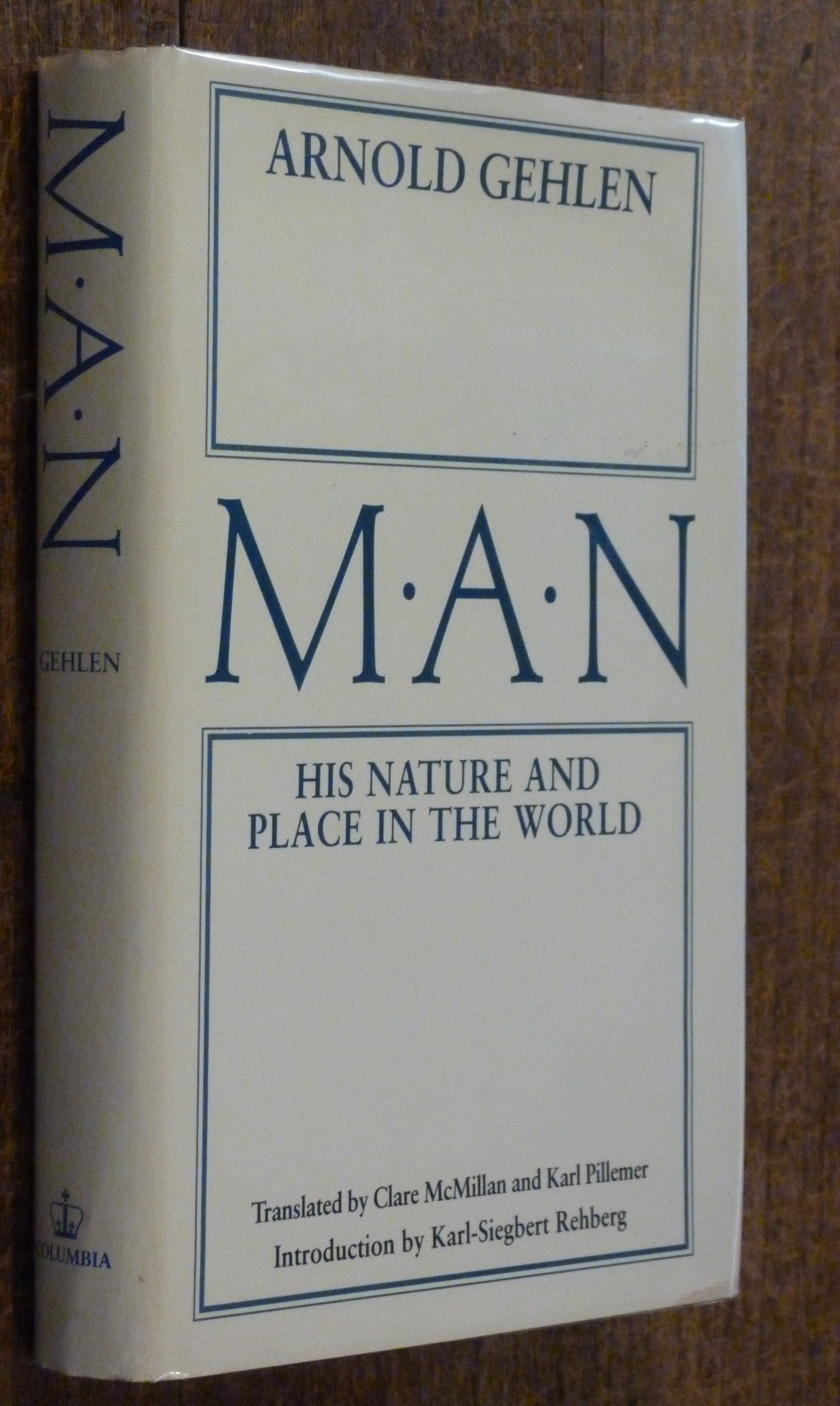 Image for Man: His Nature and Place in the World