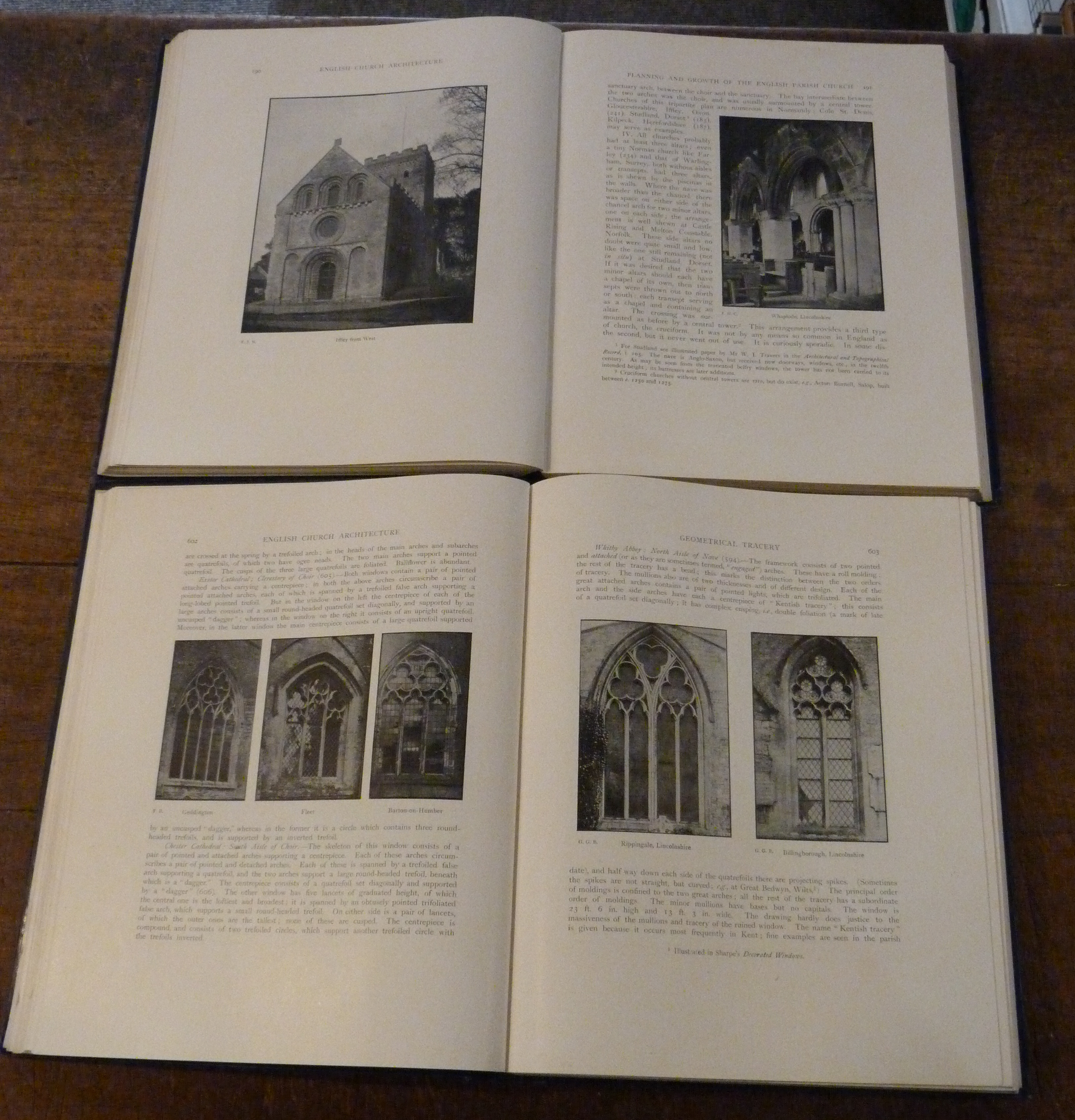Image for An Introduction to English Church Architecture from the Eleventh to the Sixteenth century  TWO VOLS
