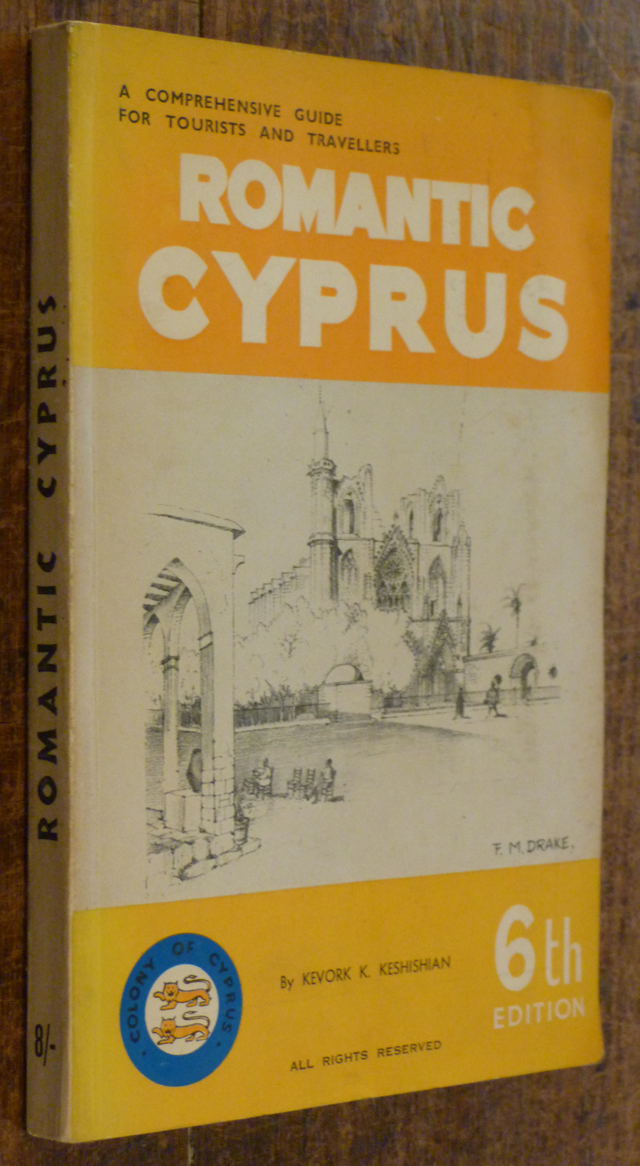 Image for Romantic Cyprus  6th Edition. Revised  Acomprehensive Guide for Tourists and Travellers