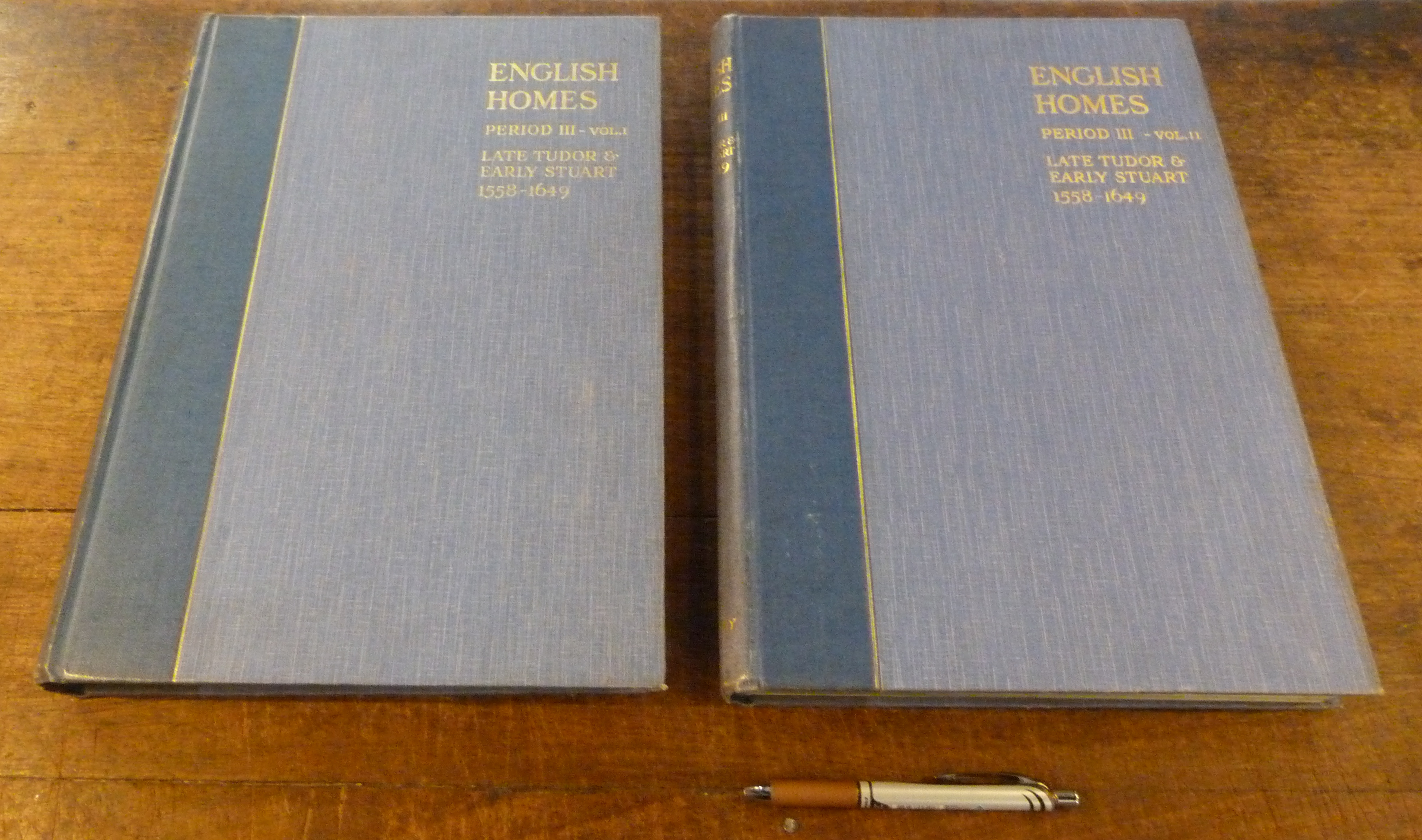 Image for English Homes. Period III Vols 1 and 2 Late Tudor and Early Stuart 1558 - 1649